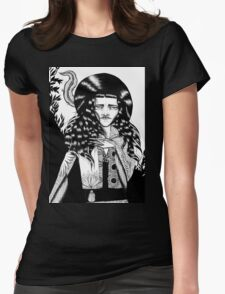 Black Hat Womens Fitted T-Shirt