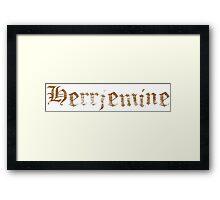 Herrjemine Framed Print