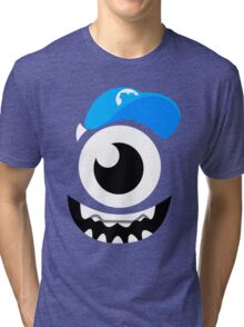 Monster Mike Wazowski Smile Tri-blend T-Shirt
