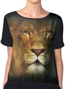 Narnia Lion Chiffon Top