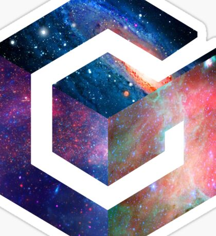 Galaxy GameCube Logo Sticker
