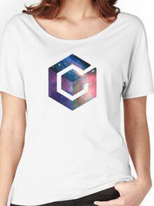 Galaxy GameCube Logo Women's Relaxed Fit T-Shirt
