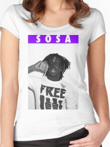 CHIEF KEEF [4K] Women's Fitted Scoop T-Shirt