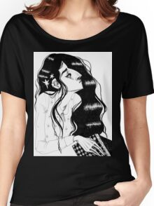 Star-Kissed Reader Women's Relaxed Fit T-Shirt