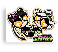 Powerpuff Squids Canvas Print