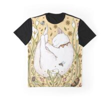 Butterflies and Bees Graphic T-Shirt