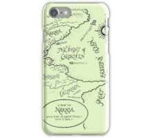 Go To Narnia Map iPhone Case/Skin
