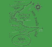 Go To Narnia Map Baby Tee