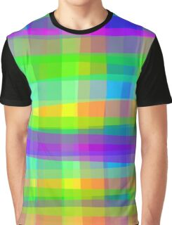 Psychedelic Fabric Texture Pattern Graphic T-Shirt