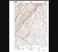 USGS TOPO Map New Jersey NJ Ramsey 20110418 TM Unisex T-Shirt