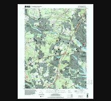 USGS TOPO Map New Jersey NJ Lakewood 254530 1995 24000 Unisex T-Shirt
