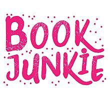 Book Junkie Photographic Print