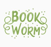 Book worm (in words) Kids Tee