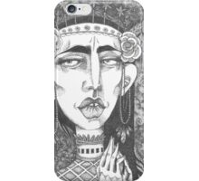 Rose Queen - Crown of Stars iPhone Case/Skin