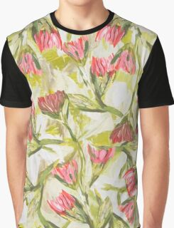 Pink Florals Graphic T-Shirt