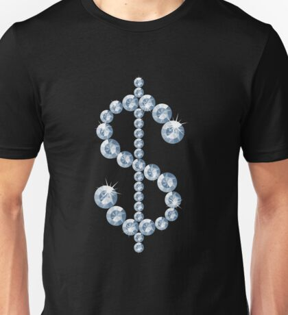 Diamond dollar sign Unisex T-Shirt