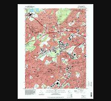 USGS TOPO Map New Jersey NJ Roselle 254843 1995 24000 Unisex T-Shirt