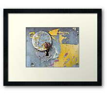 Just use your key Framed Print