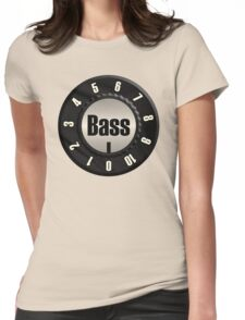 Bass Knob Womens Fitted T-Shirt