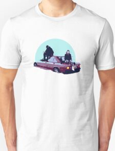 Christine and the Queens Booba - Here mercedes car clip Unisex T-Shirt