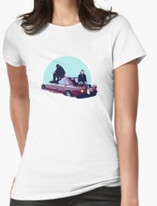 Christine and the Queens Booba - Here mercedes car clip Womens Fitted T-Shirt
