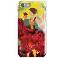 Spanish flamenco dancers iPhone Case/Skin