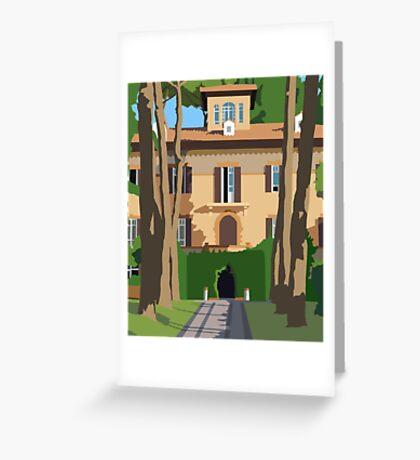 Marymount Rome Villa Greeting Card