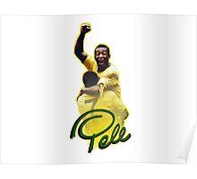 Pele World Cup Brazil Poster