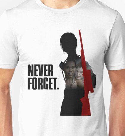 Never Forget - Ellie Unisex T-Shirt