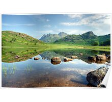Blea Tarn in July Poster