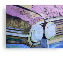 rusty car. Canvas Print