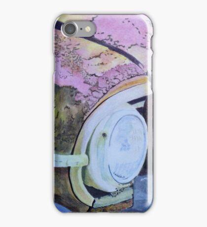 rusty car. iPhone Case/Skin