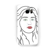 Emilia Clarke - sketch  Samsung Galaxy Case/Skin
