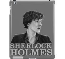 SherlockHolmes 0001 iPad Case/Skin