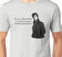 SherlockHolmes 0002 Unisex T-Shirt