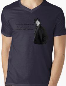 SherlockHolmes 0002 Mens V-Neck T-Shirt