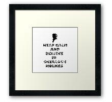 SherlockHolmes 0003 Framed Print