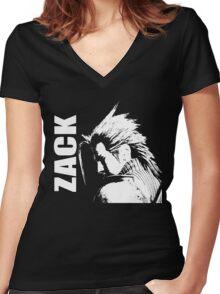 Zack - Final Fantasy VII Women's Fitted V-Neck T-Shirt