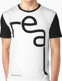 Real minimalist typography Graphic T-Shirt