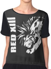 Red XIII - Final Fantasy VII Chiffon Top