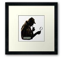 SherlockHolmes 0004 Framed Print