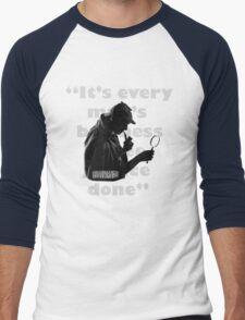 SherlockHolmes 0005 Men's Baseball ¾ T-Shirt