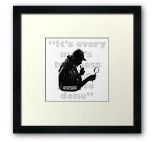 SherlockHolmes 0005 Framed Print