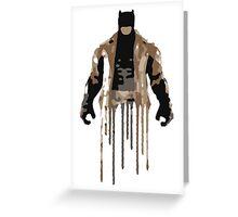 Knightmare Batman Greeting Card
