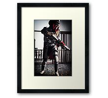 There you are little light... Framed Print