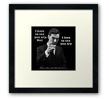 SherlockHolmes 0006 Framed Print