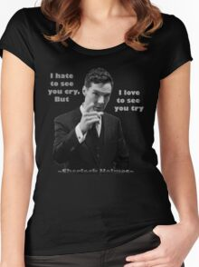 SherlockHolmes 0006 Women's Fitted Scoop T-Shirt