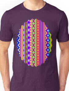 Aztec Psychedelic Chevron Pattern Unisex T-Shirt