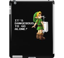 It's dangerous to go alone! iPad Case/Skin