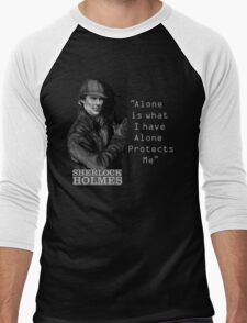 SherlockHolmes 0007 Men's Baseball ¾ T-Shirt